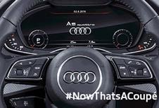 Audi A5 : voilà l'intérieur !
