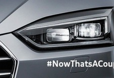 Teasers animés de l'Audi A5