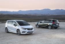 Opel Zafira een beetje in het nieuw