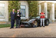 Livraison du breakfast en Ferrari California T HS