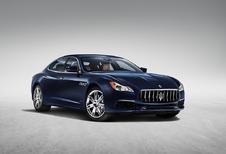 Maserati frist Quattroporte-gamma op