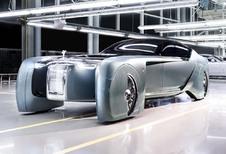 Rolls-Royce Next 100 Vision : l'avenir du luxe