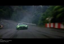 Mercedes-AMG GT-R : Lewis Hamilton dans l'Enfer vert