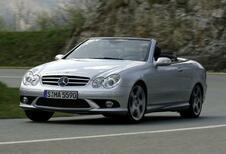 Un nouveau V8 pour la Mercedes CLK