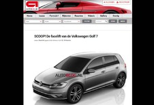 Volkswagen Golf 7: hier is de facelift