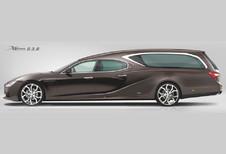 Maserati Ghibli : corbillard VIP