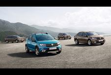 Dacia frist Sandero en Logan op