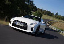 Nissan GT-R Track Edition: voor op circuit