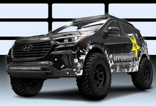 Hyundai Rockstar Santa Fe Concept : offroad #1