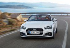 Audi A5 Cabriolet et S5 Cabriolet : avec ceintures micro