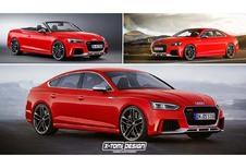 Audi : Comme ça les futures RS5 ?