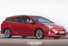 Toyota Prius break : Délire de designer ?