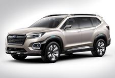 Subaru Viziv-7 SUV is voorloper cross-over met zeven zitplaatsen