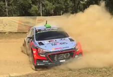 Démonstration de glissade en i20 WRC