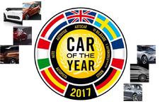 En dit zijn de finalisten van de Car of the Year 2017-verkiezing