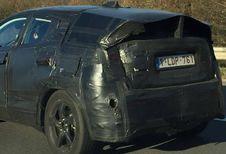 Een moeilijk te identificeren Toyota op de E313