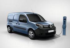 Renault Kangoo ZE geraakt verder
