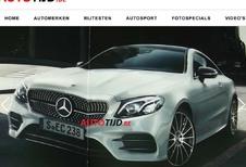 Mercedes E coupé : La voilà avant l'heure