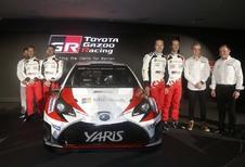 Toyota : La Yaris WRC dans les mains de Latvala