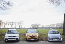 Familiale de l'année VAB : SsangYong, Renault et Hyundai