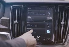 Skype à bord des Volvo Série 90