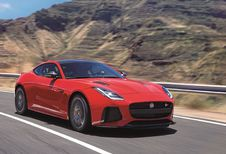 Jaguar F-Type facelift als wereldpremière in Brussel
