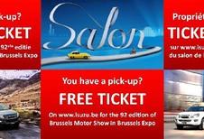 Comment obtenir des entrées gratuites au salon de Bruxelles 2017