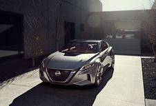 Nissan Vmotion 2.0: concept voor een grote berline
