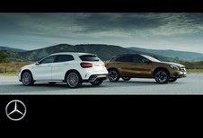 Mercedes GLA : version restylée en vidéo