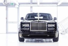 Rolls-Royce Phantom neemt afscheid