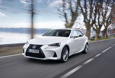 Lexus IS 300h: facelift en enkel nog hybride