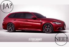 Krijgt de Alfa Romeo Giulia Sportwagon groen licht?