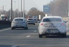 Convoi d'Opel Insignia sur le Ring de Bruxelles