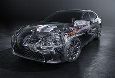 Lexus LS 500h haalt 140 km/h in elektrische modus