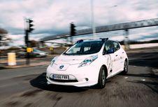Nissan Leaf autonome en démonstration à Londres