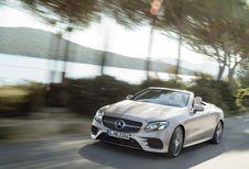Mercedes Classe E Cabriolet : aussi en 4Matic