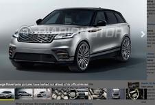 Range Rover Velar : il a fuité avant sa présentation