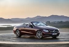 Ook de Mercedes E is er weer als cabrio