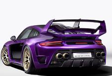 Gemballa Avalanche is bijzonder paarse Porsche 911 Turbo