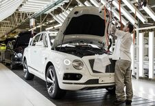 Bentley-productie in Engeland onzeker
