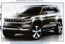 Jeep : un modèle 7 places sort du bois