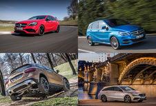 Met de A-, B-, CLA- en GLA-kleintjes van Mercedes door Hongarije
