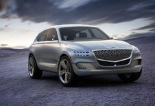Genesis baant met Belgische GV80 Concept de weg voor eerste SUV