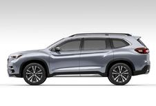 Subaru Ascent SUV Concept gaat zevenzitter vooraf