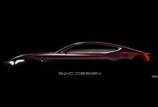 MG : Un concept de coupé électrique à Shanghai
