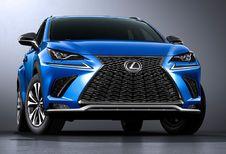 Vernieuwde Lexus NX oogt en rijdt scherper