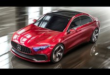 Mercedes Concept A Sedan : un avant-goût de Classe A ?