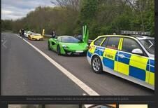 Supercars de mariage saisies par la police