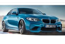 BMW M2 restylée : elle s'échappe