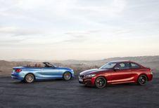 BMW Série 2 : retouches pour le coupé et le cabrio